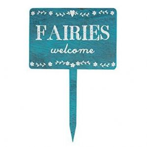 'Fairies Welcome' Shabby Chic Sign
